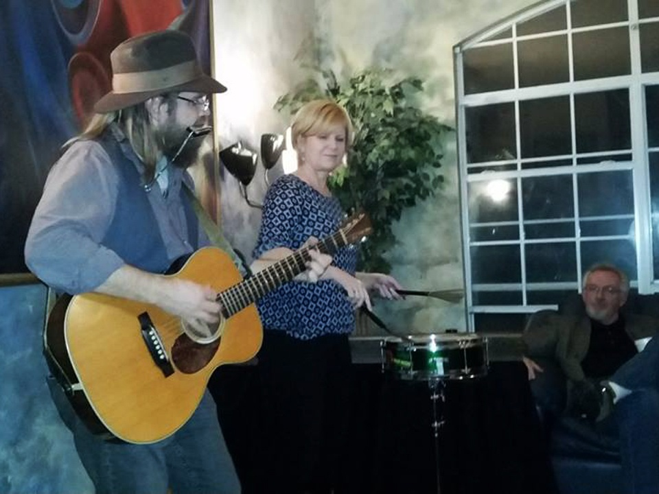 Roy Schneider & Kim Mayfield house concert